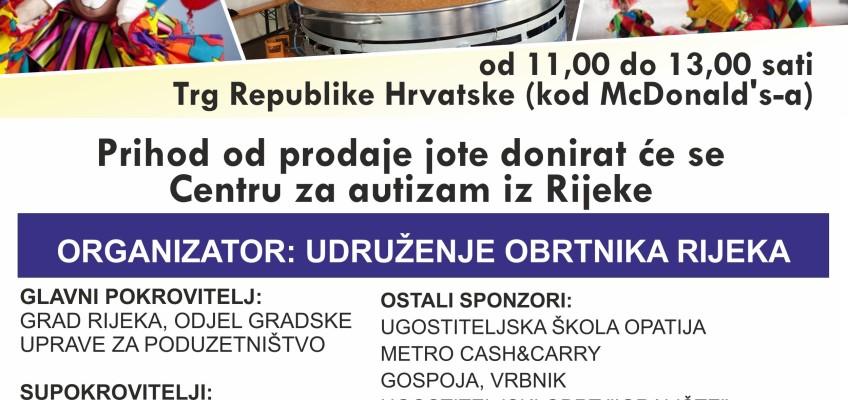 POZIV na humanitarnu Maškaranu jotu Udruženja obrtnika Rijeka