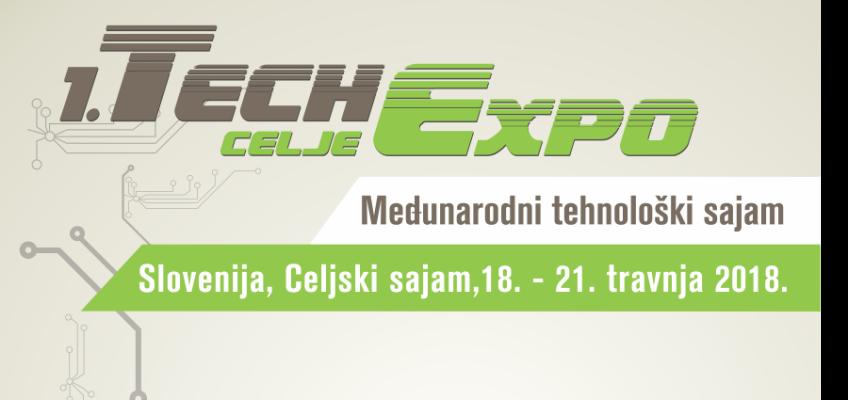 1. TECHexpo Celje  |  Međunarodni tehnološki sajam