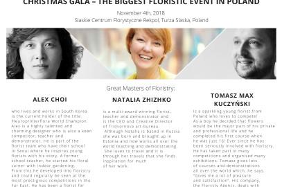 Organizirani posjet najvećem cvjećarskom događanju u Poljskoj, Christmas gala, 4.11.2018
