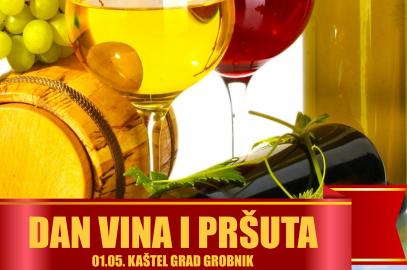 """Poziv članovima na besplatno sudjelovanje na sajmu """"Dan vina i pršuta"""" u kaštelu Grada Grobnika"""