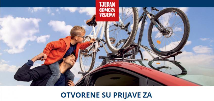 """Projekt """"Tjedan odmora vrijedan"""" – od 16. do 25. listopada 2020. godine – poziv za sudjelovanje"""