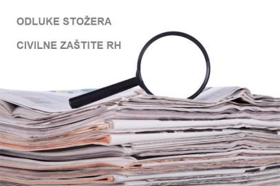 Stožer civilne zaštite RH donio nove mjere s primjenom od 27.10.2020. godine